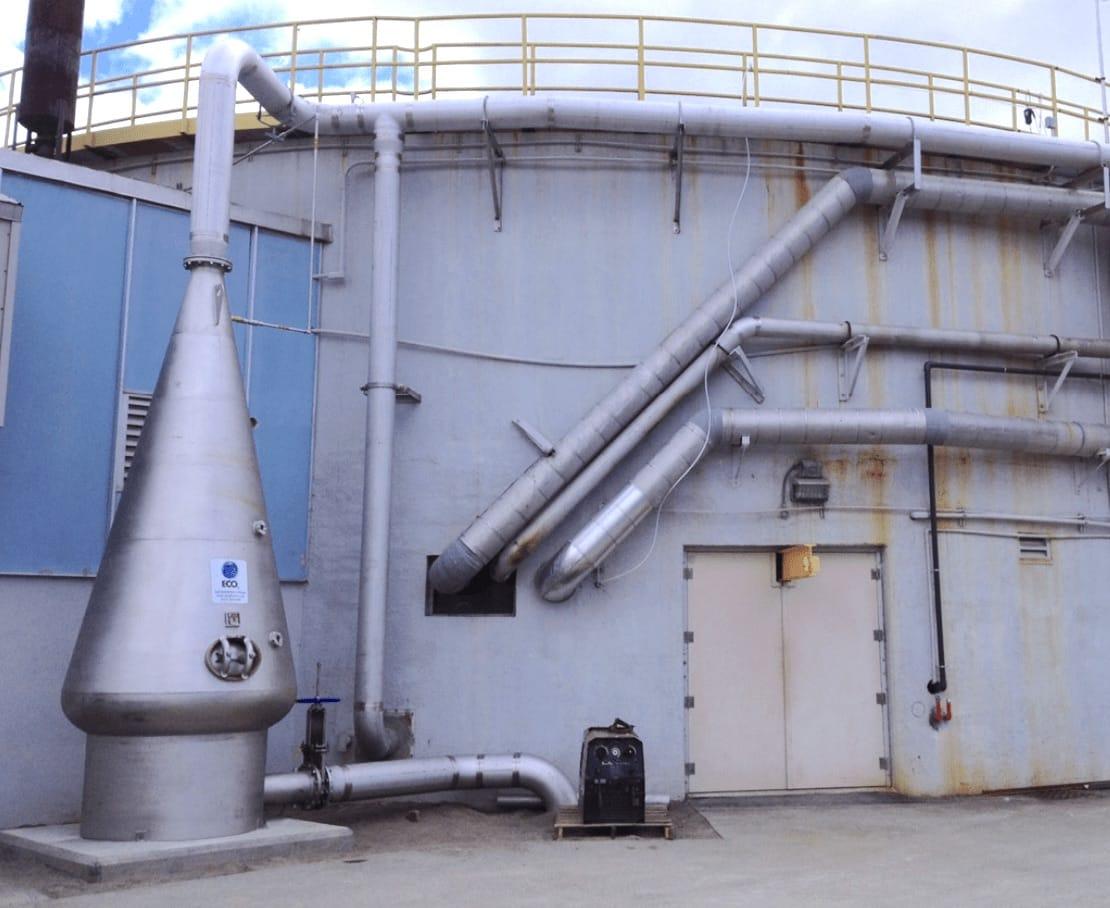 ECO2 - Primary Clarifier Odor Control