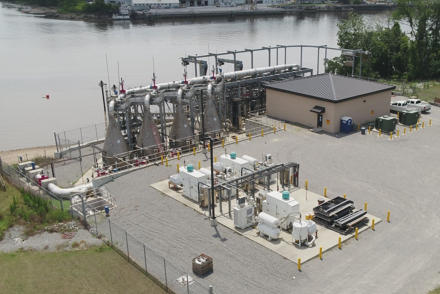 Savannah River ECO2 SuperOxygenation